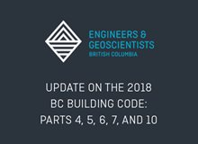 Update on the 2018 BC Building Code: Parts 4,5,6,7 and 10