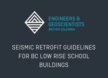 Seismic Retrofit Guidelines for BC Low-Rise School Buildings
