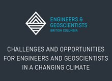 Challenges and Opportunities for Engineers and Geoscientists in a Changing Climate