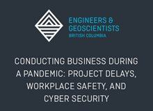 Conducting Business During a Pandemic: Project Delays, Workplace Safety and Cyber Security
