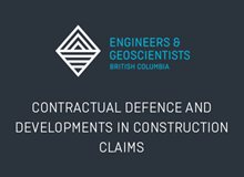 Contractual Defence and Developments in Construction Claims