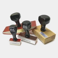 40 MM Limited Licensee Rubber Stamp