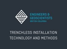Trenchless Installation Technology and Methods