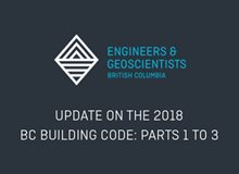 Update on the 2018 BC Building Code Parts 1 to 3